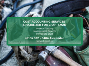 Cost Accounting Services Specialized for Craftsman