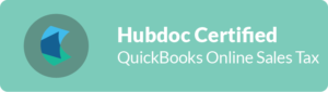 Hubdoc Certified Partner QBO SalesTaxes